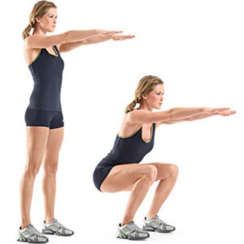 Упражнения для похудения ляшек и ягодиц в домашних условиях