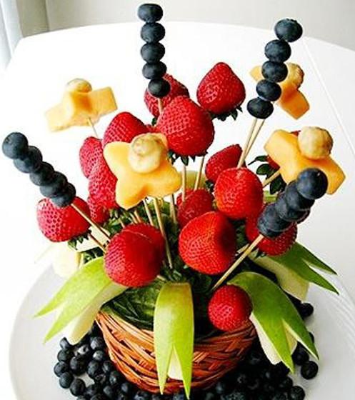 Букеты из фруктов своими руками пошаговое фото