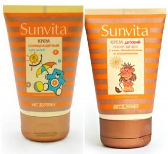 sunvita крем защитный от веснушек spf купить