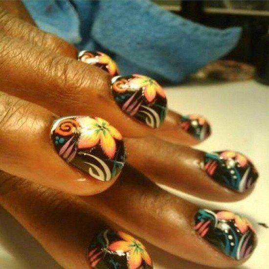 buble-nail-art