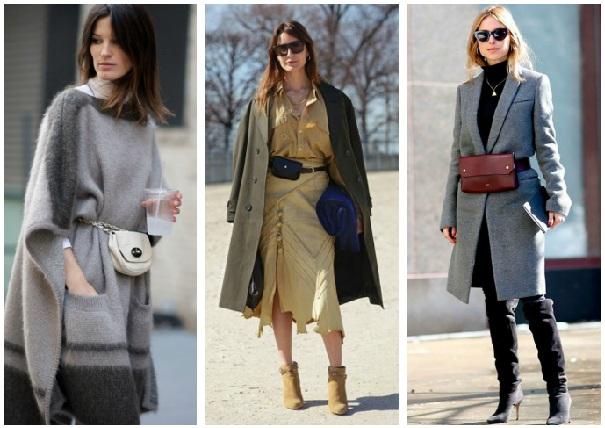 С чем можно носить модную поясную сумку: 6 прекрасных вариантов для разных случаев